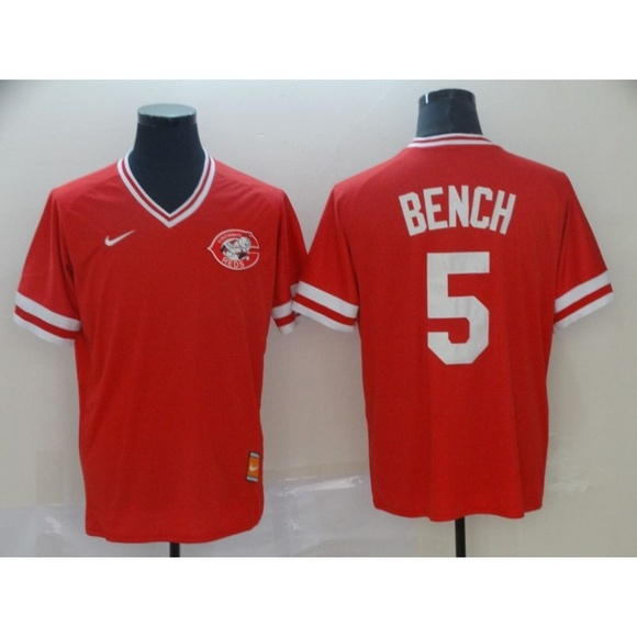 finest selection 6399a 98688 Cincinnati Reds Johnny Bench Jersey